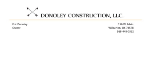Donoley Construction image